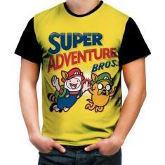 Imagem de Camiseta Camisa Hora Da Aventura Finn Jake Adventure Time 7