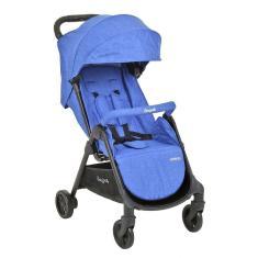 Imagem de Carrinho De Bebê Genius Blue Denim - Burigotto