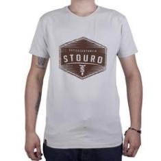 Imagem de Camiseta Brasão Logo - Bege