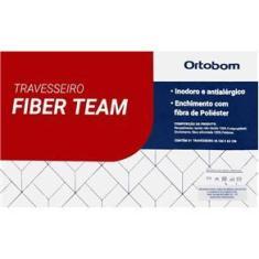 Imagem de Travesseiro Fiber Team Antialérgico c/ Fibra Siliconizada - Ortobom