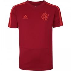 Camisa infantil Flamengo 2018 19 Treino Infantil Adidas d26db78705313