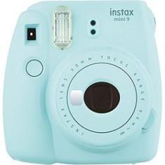 Câmera Fujifilm Instax Mini 9 Foto Instantânea - Azul Aqua