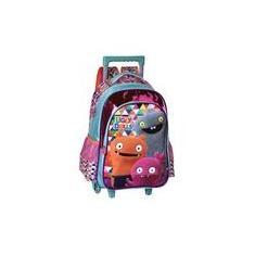 Imagem de Mochila Escolar Infantil com Rodinha Ugly Dolls Clio UG2300K