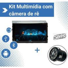 "Central Multimídia Automotiva H-Tech 7 "" HT-4020 Touchscreen Bluetooth"