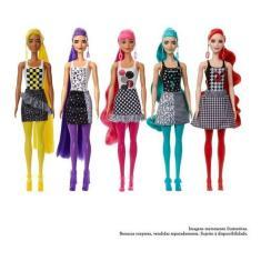 Imagem de Boneca Barbie Color Reveal Monocromática - Gwc56 - Mattel