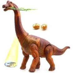 Imagem de Brinquedo Dinossauro Projeta Imagem Solta Ovo Anda Som E Luz