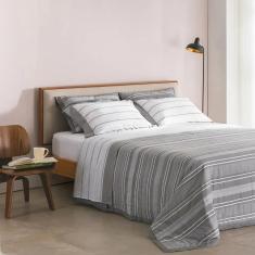 Imagem de jogo de cama queen buddemeyer 180 fios 100% algodão percalle oxford
