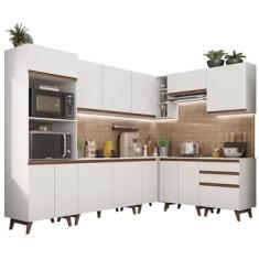Imagem de Cozinha Completa 3 Gavetas 13 Portas Reims 462001 Madesa