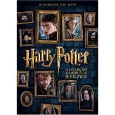 Imagem de Box DVD Harry Potter Coleção Completa 8 Filmes