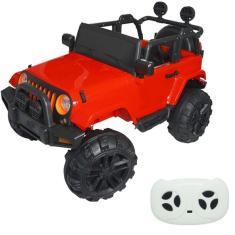 Imagem de Mini Jipe Elétrico Infantil Criança 12V com Controle Remoto Luz Som Usb Mp3 Carro Importway BW028