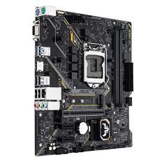Placa-mãe para jogos Intel H310 mATX com iluminação LED Aura Sync RGB, suporte para DDR4-2666MHz e M.2 com 20Gbit / s
