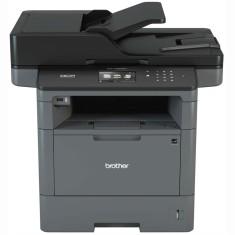 Impressora Multifuncional Brother MFC-L5802DW Laser Preto e Branco Sem Fio