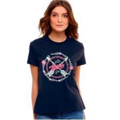 Imagem de T Shirt Feminina Austin Western  Marinho Forever Dreams