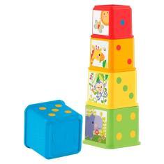 Imagem de Fisher-Price Meus Primeiros Blocos de Animaizinhos - Mattel