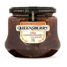 Imagem de Molho Agridoce de Alho Caramelizado Queensberry Gourmet 310g