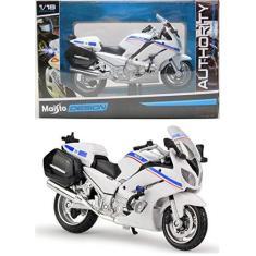 Imagem de Moto Yamaha FJR1300A - Policia França - Authority Police Motorcycles - 1/18 - Maisto