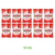 Imagem de Açúcar Cristal Refinado União Pacote 1kg Mais Comum - 10Unid