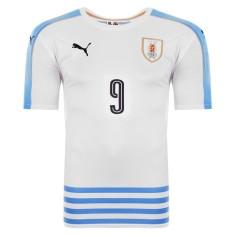 Camisa Uruguai II 2016 com Número Torcedor Masculino Puma 5bb90eeffa084