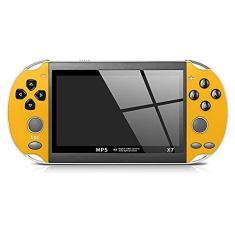 Imagem de XUANWEI X7 8 GB console portátil de videogame PSP, jogador de videogame, console de videogame integrado, console portátil de videogame com joystick duplo