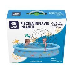 Imagem de Piscina Inflável 1000 Litros  10033 - Bel Fix