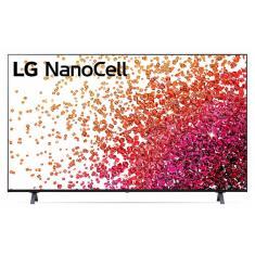 """Smart TV Nano Cristal 50"""" LG ThinQ AI 4K HDR 50NANO75SPA"""