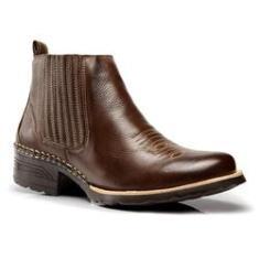 Imagem de Bota Coutry Texana Capelli Boots Couro com Solado em Borracha Masculina