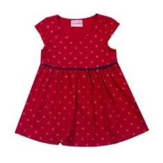 Imagem de Vestido Bebê Menina Coração Duduka