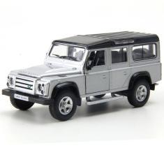 Imagem de Miniatura em Metal - 1:32 - Land Rover Defender 110 - Prata