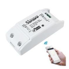 Imagem de Tomada interruptor inteligente Sonoff casa automatizada fácil instalação