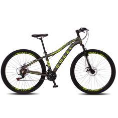 Imagem de Bicicleta Colli Bikes 21 Marchas Aro 29 Suspensão Dianteira Freio a Disco Mecânico Eudora
