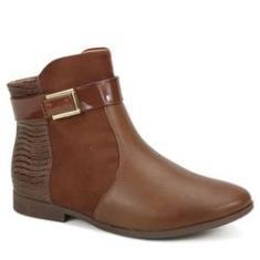 Imagem de Bota Ankle Boot Feminina Comfortflex 1949302