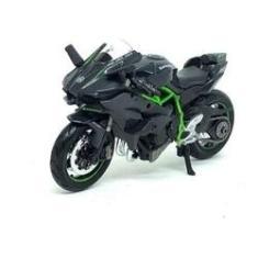 Imagem de Miniatura Moto Kawasaki Ninja H2r  / Verde 1:18 Maisto
