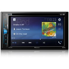 "DVD Player Automotivo Pioneer 6 "" AVH-A208BT Touchscreen Bluetooth"
