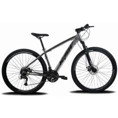 Bicicleta Mountain Bike KSW 24 Marchas Aro 29 Suspensão Dianteira Freio a Disco Hidráulico XLT