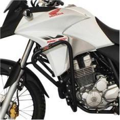 Imagem de Protetor de Carenagem SFX Honda XRE 300 2009 a 2020  Fosco Mata Cachorro com Slider Moto