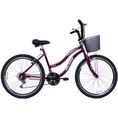 Imagem de Bicicleta Dalannio Bike 18 Marchas Aro 26 Freio V-Brake Beach