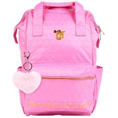 Mochila Escolar Dermiwil Capricho Love Pink 11357