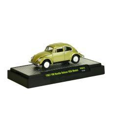 Imagem de Volkswagen Fusca Beetle Deluxe Usa Model 1967 Vw03 M2 Machines Auto-Thentics 1:64