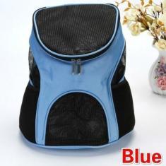 Imagem de Mochila confortável para animais de estimação Malha respirável para filhotes de cães e gatos Bolsa de transporte ao ar livre