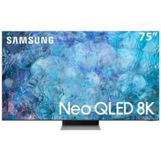"Smart TV Neo QLED 75"" Samsung 8K HDR QN75QN900AGXZD 4 HDMI"
