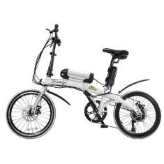 Imagem de Bicicleta Elétrica Two Dogs Dobrável 7 Marchas Aro 20 Freio a Disco Mecânico Pliage