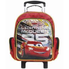 Imagem de Mochila com Rodinhas Escolar Dermiwil Carros 3 Mc Queen