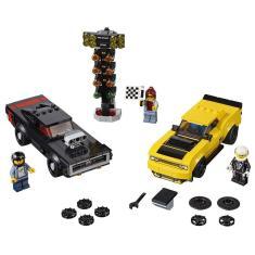 Imagem de Lego Speed Champions - Dodge SRT Demon 2018 e Dodge 1970 Charger - Lego