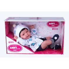 Imagem de Boneca Bebê Reborn Anny Doll Menino Cotiplás