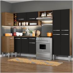 Imagem de Cozinha Completa 1 Gaveta 11 Portas Emilly Sun Madesa