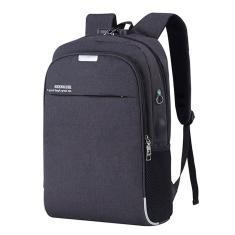 Imagem de Mochila de carregamento USB masculina e feminina anti-roubo capa laptop bolsa para notebook