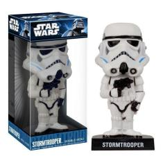 Imagem de Stormtrooper Imperial - Bobble Head Star Wars - Funko Wacky Wobbler