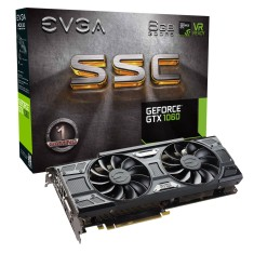 Placa de Video NVIDIA GeForce GTX 1060 6 GB GDDR5 192 Bits EVGA 06G-P4-6267-KR