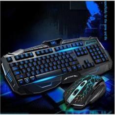 Imagem de Kit Teclado e Mouse Gamer com fio V-100 - BMAX
