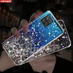 Imagem de Capa de celular macia de silicone com glitter, capinha para samsung galaxy a12 a42 a52 5g samsung